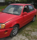 hyundai accent red