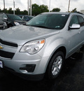 chevrolet equinox 2012 silver lt flex fuel 4 cylinders front wheel drive automatic 60007