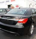 chrysler 200 2012 black sedan touring flex fuel 6 cylinders front wheel drive automatic 07730