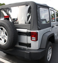 jeep wrangler unlimited 2012 silver suv sport gasoline 6 cylinders 4 wheel drive automatic 07730