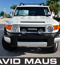 toyota fj cruiser 2012 white suv gasoline 6 cylinders 4 wheel drive automatic 32771