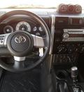 toyota fj cruiser 2008 black suv gasoline 6 cylinders 4 wheel drive automatic 75503