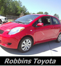 toyota yaris 2008 red hatchback gasoline 4 cylinders front wheel drive automatic 75503