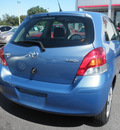 toyota yaris 2010 blue yaris gasoline 4 cylinders front wheel drive automatic 34788