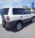 toyota rav4 1998 white suv gasoline 4 cylinders front wheel drive 5 speed manual 28557
