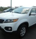 kia sorento 2011 white suv lx gasoline 4 cylinders 4 wheel drive 6 speed automatic 43228