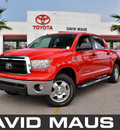 toyota tundra 2011 red sr5 gasoline 8 cylinders 2 wheel drive automatic 32771