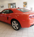 chevrolet camaro 2011 orange coupe ss gasoline 8 cylinders rear wheel drive automatic 55313