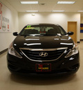 hyundai sonata 2011 black sedan gls gasoline 4 cylinders front wheel drive automatic 27707