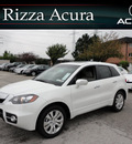 acura rdx 2012 white suv sh tech awd gasoline 4 cylinders all whee drive automatic with overdrive 60462