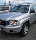 honda ridgeline 2011 silver gasoline 6 cylinders 4 wheel drive automatic 46219