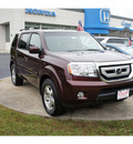 honda pilot 2009 dark cherry suv ex gasoline 6 cylinders all whee drive automatic 08750