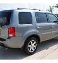 honda pilot 2009 gray suv touring w navi w dvd gasoline 6 cylinders front wheel drive automatic with overdrive 77065