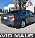 toyota camry 2012 gray sedan se 4 cylinders front wheel drive automatic 32771