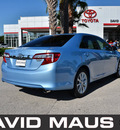 toyota camry 2012 blue sedan xle 4 cylinders front wheel drive automatic 32771