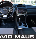 toyota camry 2012 black sedan se 4 cylinders front wheel drive automatic 32771