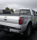 ford f 150 2011 silver fx4 flex fuel 8 cylinders 4 wheel drive automatic 07735