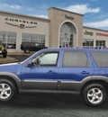mazda tribute 2005 blue suv s gasoline 6 cylinders all whee drive automatic 60915