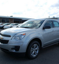 chevrolet equinox 2012 silver ls flex fuel 4 cylinders front wheel drive automatic 27330