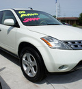 nissan murano 2005 off white suv se gasoline 6 cylinders all whee drive cont  variable trans  47129