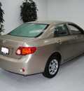 toyota corolla 2010 tan sedan gasoline 4 cylinders front wheel drive automatic 91731