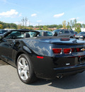 chevrolet camaro 2012 black lt convertible gasoline 6 cylinders rear wheel drive automatic 27330