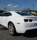 chevrolet camaro 2012 white coupe lt gasoline 6 cylinders rear wheel drive automatic 27330