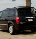 dodge grand caravan 2008 black van sxt gasoline 6 cylinders front wheel drive automatic 62034