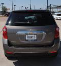 chevrolet equinox 2010 mocha suv ls gasoline 4 cylinders front wheel drive automatic 76087