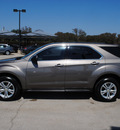 chevrolet equinox 2010 mocha suv ls gasoline 4 cylinders front wheel drive automatic 76087