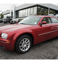 chrysler 300 2009 dk  red sedan touring gasoline 6 cylinders rear wheel drive automatic 08812