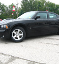 dodge charger 2010 black sedan sxt gasoline 6 cylinders rear wheel drive automatic 45840