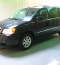 chrysler town and country 2009 black van touring gasoline 6 cylinders front wheel drive automatic 44883