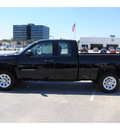 chevrolet silverado 1500 2011 black pickup truck work truck flex fuel 8 cylinders 2 wheel drive automatic 77090
