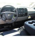chevrolet silverado 1500 2011 black pickup truck work truck flex fuel 8 cylinders 2 wheel drive automatic 77090