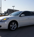 nissan altima 2007 white sedan 3 5 se gasoline 6 cylinders front wheel drive automatic 76018