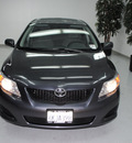 toyota corolla 2010 black sedan le gasoline 4 cylinders front wheel drive automatic 91731