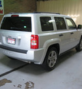 jeep patriot 2007 silver suv sport gasoline 4 cylinders 4 wheel drive automatic 44883