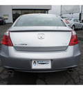honda accord 2009 silver coupe ex l v6 gasoline 6 cylinders front wheel drive automatic 08812