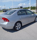 honda civic 2008 silver sedan ex gasoline 4 cylinders front wheel drive automatic 28557