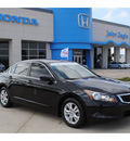 honda accord 2009 black sedan lx p gasoline 4 cylinders front wheel drive automatic 77065