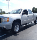 gmc sierra 2500hd 2008 silver diesel 8 cylinders 4 wheel drive automatic with overdrive 28557