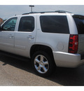 chevrolet tahoe 2011 silver suv ltz flex fuel 8 cylinders 2 wheel drive 6 spd auto,elec cntlled 77090