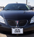 pontiac g6 2008 black sedan gasoline 4 cylinders front wheel drive automatic 76018