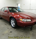 pontiac grand prix 2000 red sedan se gasoline v6 front wheel drive automatic 14304