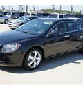 chevrolet malibu 2012 black sedan lt gasoline 4 cylinders front wheel drive 6 spd auto lpo,rr splr li 77090