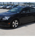 chevrolet cruze 2011 black sedan lt gasoline 4 cylinders front wheel drive 6 spd auto,elec cntrl od2 77090