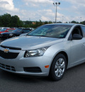 chevrolet cruze 2012 silver sedan ls gasoline 4 cylinders front wheel drive automatic 27330