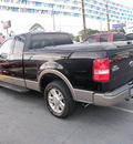 ford f 150 2004 black pickup truck lariat gasoline 8 cylinders rear wheel drive automatic with overdrive 32401