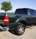 ford f 150 2004 green lariat gasoline 8 cylinders 4 wheel drive automatic with overdrive 76018